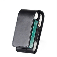 1pc PU Leather Case Flip Cover Cover Bag For IQOS Electronic Cigarette Carrying Protective стоимость
