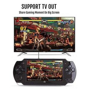 Image 4 - Новая игровая консоль 4,3 дюйма, встроенная 8 ГБ для MP4 видео/MP5/камеры/электронной книги, портативный ручной ретро плеер