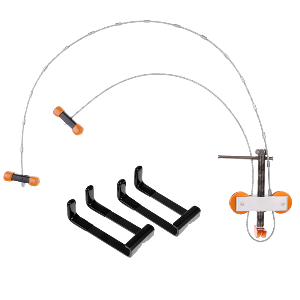 Portable Metal Cable Bow Press String Changer Bowmaster With L Brackets For Compound Bow Hunting