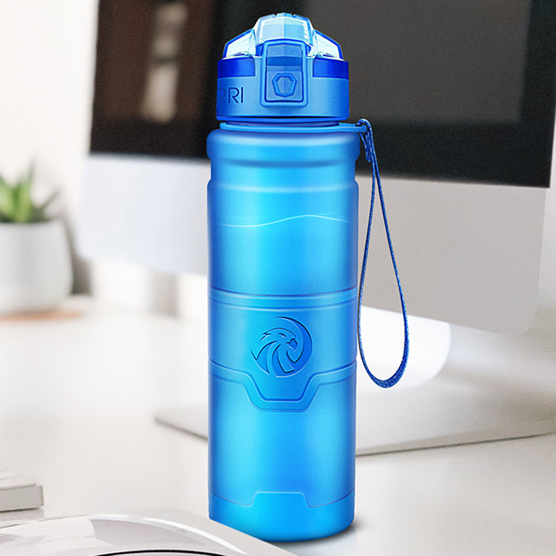 ZORRI Water Bottle Protein Shaker Portable Motion Sports Water Bottle Bpa Free Plastic For Sports Camping Hiking Gourde 700ml|Water Bottles|   - AliExpress