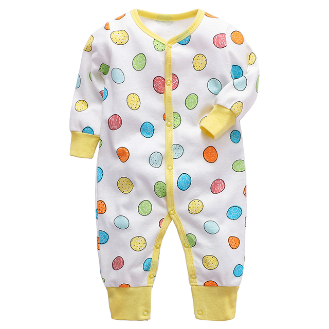 Baby Romper Newborn baby boys girls clothes 3 6 9 12 18 24 months cotton infant jumpsuit toddler kids clothing 1