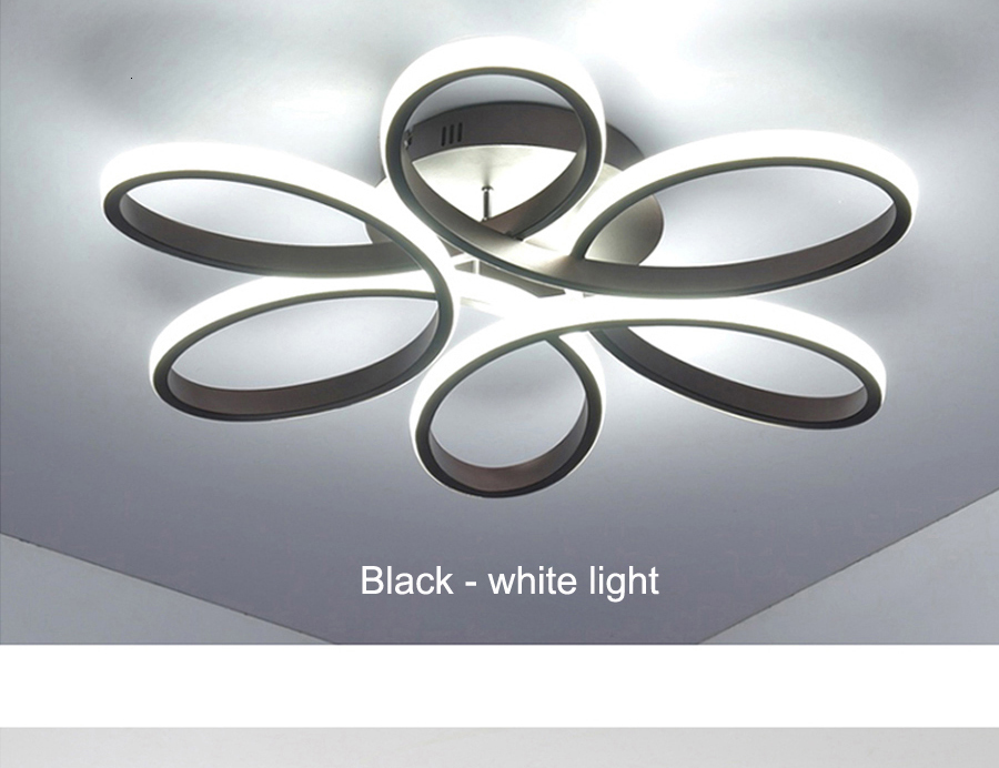 H9ae8de373aea41e18ca167fb40adcbafs Modern LED Ceiling Lights Remote control for Living room Bedroom 78W 72W 90W 120W Aluminum boby indoor plafond Lamp flush mount