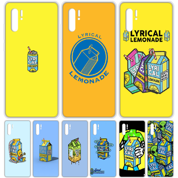 Lyrical Lemonade Phone Case cover For HUAWEI p 8 9 10 20 30 40 P pro Smart 2017 2019 Z lite transparent coque silicone bumper image