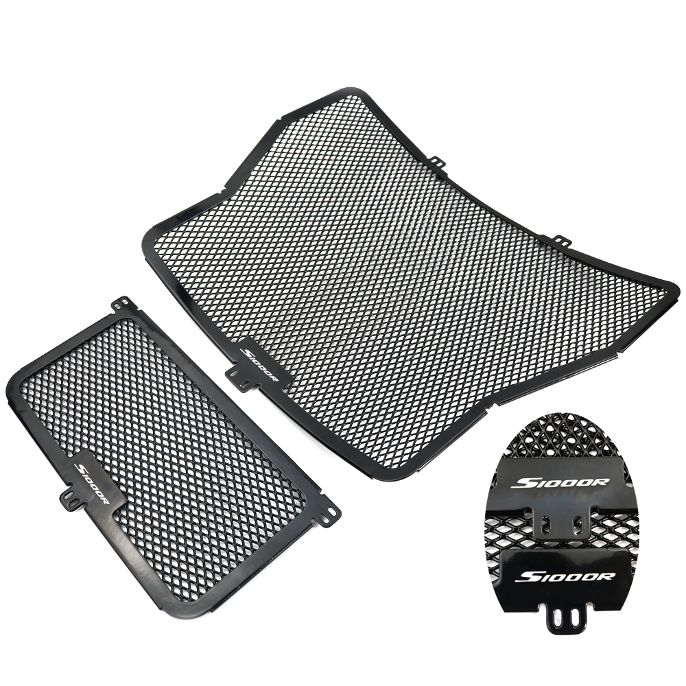 Radiator Cover Grill For BMW S1000R 2014 2015 2016 2017 2018 Motorcycle Aluminum Radiator Guard And Oil Cooler Protector