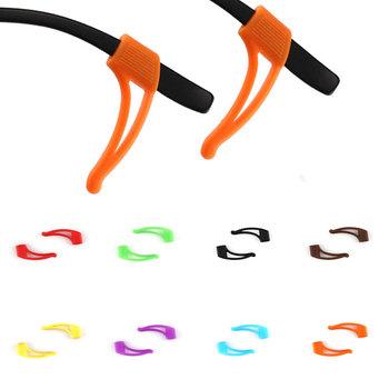 Sznurek do okularów 1PC silikonowe okulary okulary pasek do okularów przeciwsłonecznych opaska sportowa uchwyt na przewód antypoślizgowy pasek akcesoria do okularów tanie i dobre opinie