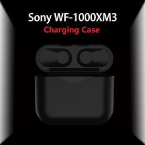 Etui z funkcją ładowania dla Sony WF-1000XM3 redukcja szumów naprawdę bezprzewodowe słuchawki douszne zestaw słuchawkowy/słuchawki, 1000mAh pokrywa baterii, wymiana