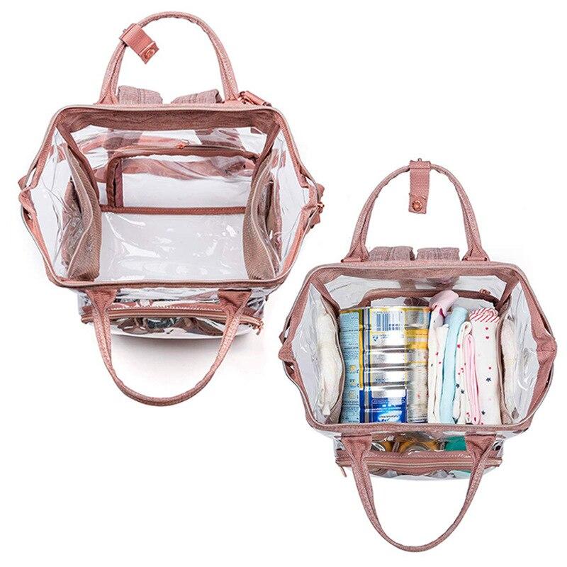 Bolso de maternidad multifuncional plegable portátil para bebé con mosquitera para el cuidado del bebé - 2