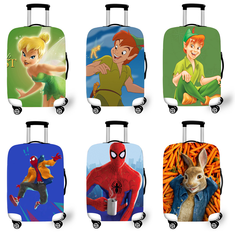 Elastic Luggage Protective Cover Case For Suitcase Protective Cover Trolley Cases Covers 3D Travel Accessories Jungle Pattern T4