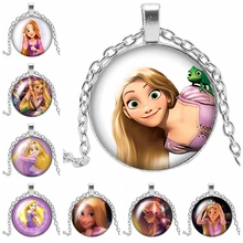 2019 New Cute Girl Naughty Pendant Necklace Pattern Handmade Woman Charm Hand-made Gift