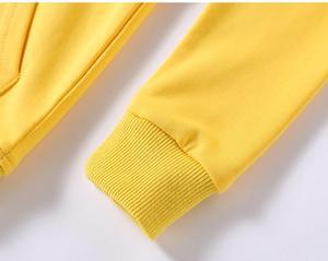Image 5 - 2020 אביב חמוד ילדים של סוודר כותנה מוצק צבע בגדי בגדי ילדים לבן סלעית סוודר עבור תינוק בנים ובנות