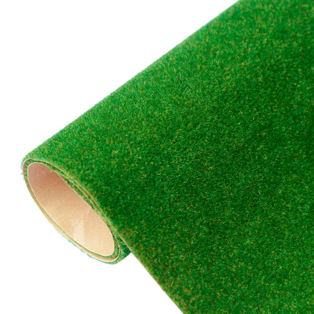 41 X 100cm Artificial Grassland Grass Lawn Turf Grass DIY Railway Model Sand Table Decor Model Building Accessories Toys Hobbies