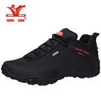 Zapatillas de senderismo para hombre XIANG GUAN, zapatillas de senderismo para mujer, zapatillas negras para correr al aire libre, zapatos de escalada y pesca