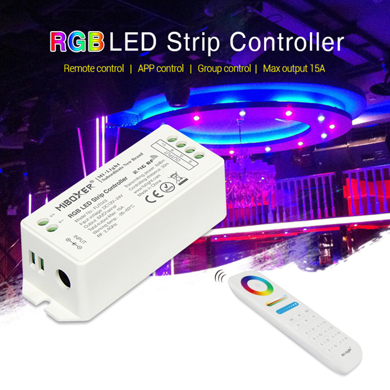 Mi boxer FUT043 FUT044 FUT045 FUT043A FUT044A FUT045A RGB RGBW RGB+CCT function LED Controller Smart LED Control System