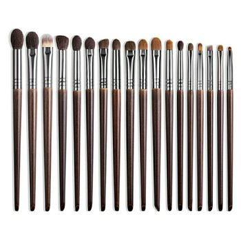 OVW Natural Goat Hair Eyeshadow Professional Makeup Brushes Crease Blending Shader kist dlya teney brovey brochas maquillaje 1pc 1