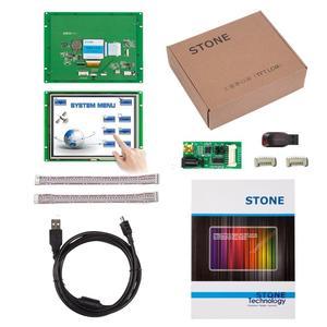 Камень 8 дюймов Интеллектуальный HMI TFT дисплей модуль с программой + контроллер + UART интерфейс человеческий машинный интерфейс для промышленности