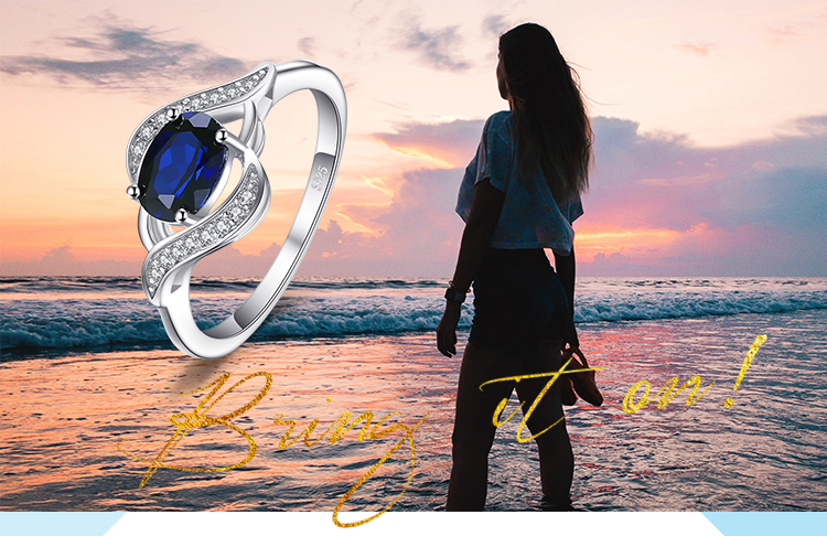 H9aeabfd472af4e7e943038af30a7290bV Jewelrypalace Created Blue Sapphire Ring 925 Sterling Silver Rings for Women Halo Engagement Ring Silver 925 Gemstone Jewelry