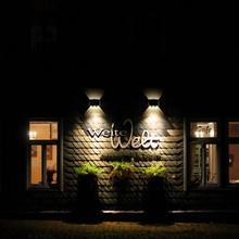 AC 85-265V 6W Modern Arch LED Wall Light For Living room Bedroom Hotel Energy Saving Lamp