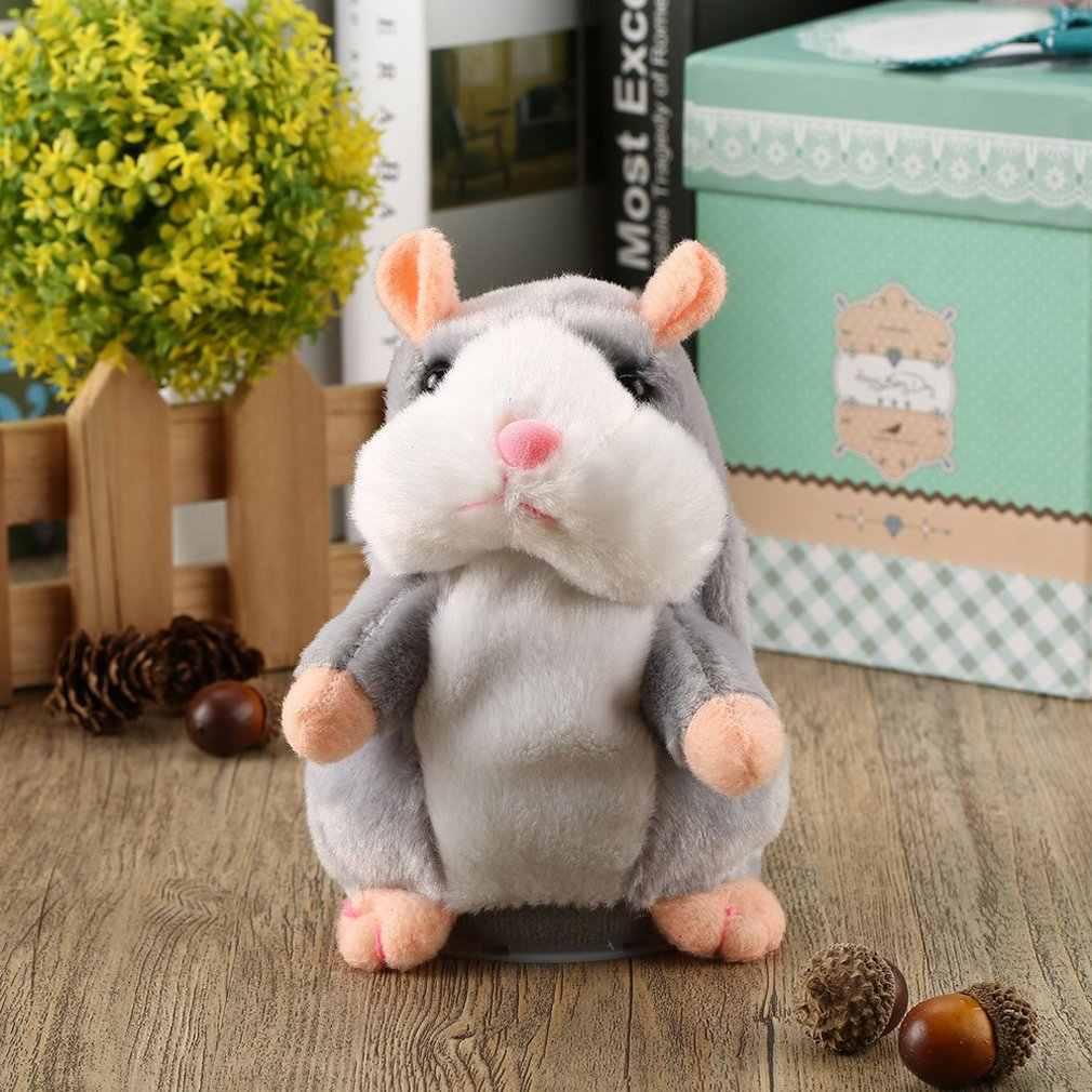 Nói Tiếng Nói Âm Thanh Ghi Hamster Ngọt Động Vật Nói Hamster Đồ Chơi Dành Cho Trẻ Em Nhồi Bông & Sang Trọng Động Vật Sweetie Đồ Chơi