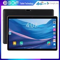 BDF 10 Pollici 3G Chiamata di Telefono Cellulare Dual SIM Card Tablet Pc Android 7.0 Tablet Pc 1GB + 32GB Built-in 3G WiF Bluetooth FM Google
