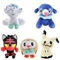 Плюшевые игрушки попплио алола 20-30 см, мягкие куклы-животные, подарок для детей на день рождения