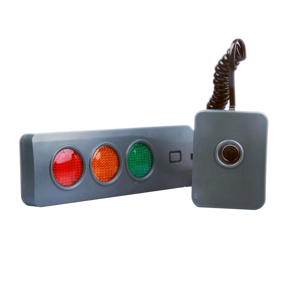 3Colors <font><b>Car</b></font> Parking Sensor System Home Position <font><b>Guide</b></font> For Garage Rectangle <font><b>Battery</b></font> Powered Safe Light Stop Indicators Assisting image