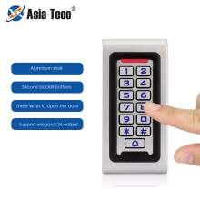 Metal Keypad RFID Access Control System Support Wiegand 26 Output Proximity Card Standalone Door Access Controller 2000 Users