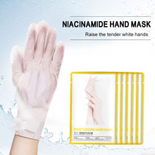 Masque hydratant pour les mains en gros lissant blanchissant exfoliant enlever les gants de Spa pour les mains Anti-âge morts TSLM1