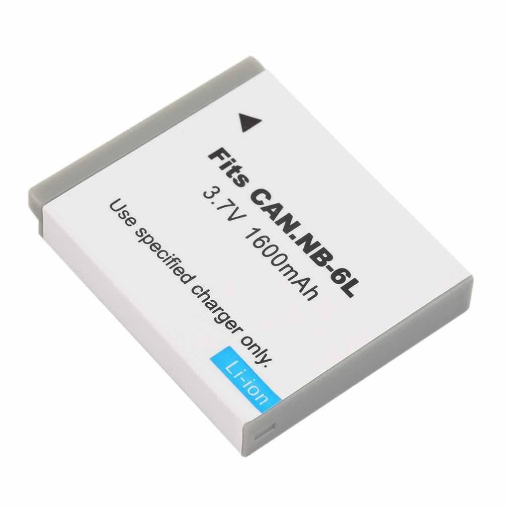 Новый 3,7 V 1600MAH Сменный литий-ионный аккумулятор для камеры CANON NB-6L
