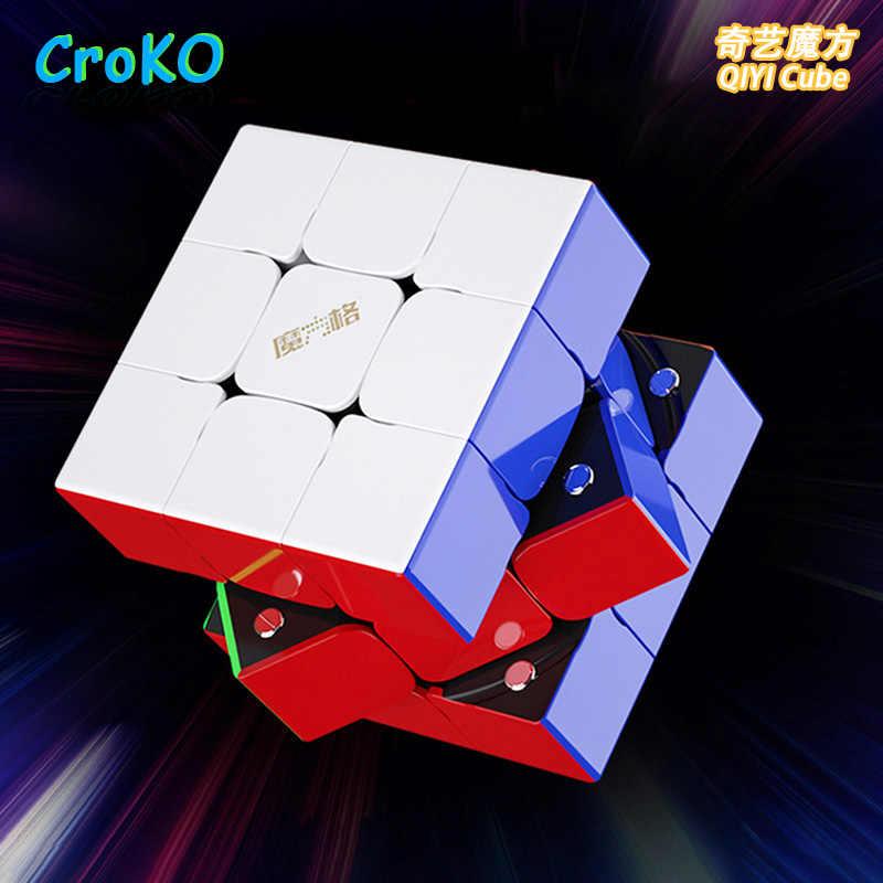 Куб магический 3x3x3, профессиональный магический куб 7,2 см, высококачественные неокубики, детские головоломки, игрушки, домашние игры для детей, реквизит для представлений
