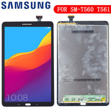 Nieuwe Voor Samsung Galaxy Tab E 9.6 SM-T560 T560 SM-T561 Lcd Touch Screen Digitizer Matrix Panel Tablet Montage Onderdelen(China)