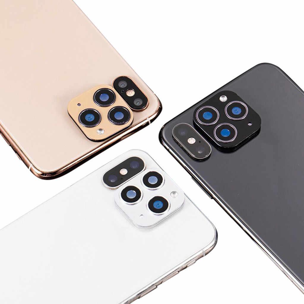 עבור iPhone X XS מקסימום שניות לשנות עבור iPhone 11 מצלמה עדשת מסך מגן טלפון מקרה מגן coverPackage כולל # e25