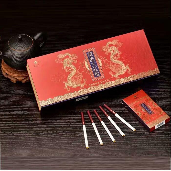 Jasmine Dahongpao Tea Smoking Cessation Qingfei Fine Tea Smoking Non-tobacco Products