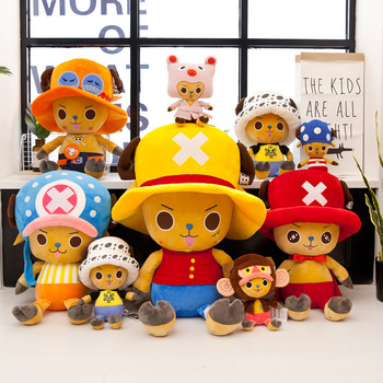 35cm One Piece Anime Plush Doll Large One Piece Tony Tony Chopper Doll Children's Gift Onepiece Plush Toys 55cm cartoon one piece plush toys chopper plush doll stuffed anime cute toy chopper doll best gift for children