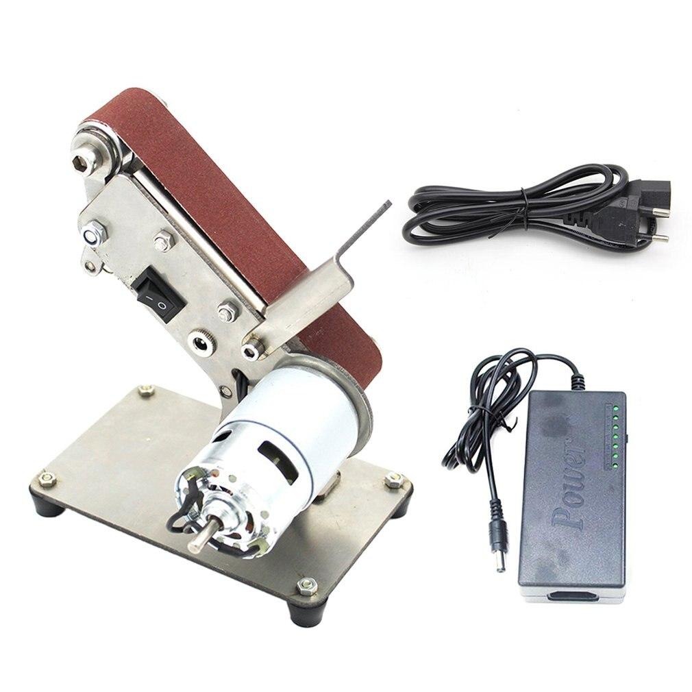 Mini Small Mini Belt Machine Diy Polishing Machine Folding Mini 775 Bare Metal Eu Fixed Angle Sharpening Machine