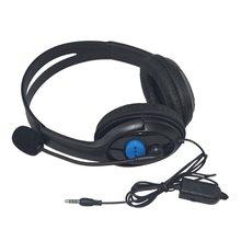Przewodowy słuchawki dla graczy 40mm kierowcy bas Stereo słuchawki z mikrofonem izolacja hałasu dla Sony PS3 PS4 na laptopa komputer dla graczy słuchawki tanie tanio Noise Isolating Wired Gaming Headsets