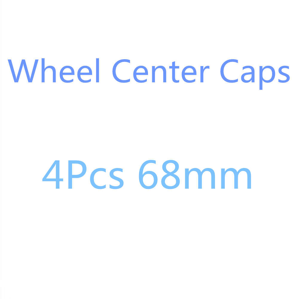 4Pcs 68MM Car Wheel Center Cover Hub Cap For BMW E36 E34 F10 F20 F30 E46 E39 E38 E90 E60 M3 M5 M6 X5 E53 E70 M E85 E87 E91 X3 X6 image