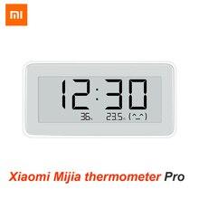 Xiaomi mijia bt4.0 relógio digital elétrico inteligente sem fio indoor & outdoor higrômetro termômetro lcd ferramentas de medição temperatura