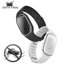 DATA FROG Electronic Mosquito Repellent Bracelet Waterproof Portable Watch Anti Mosquito Wristband Pregnant Kids Mosquito Killer