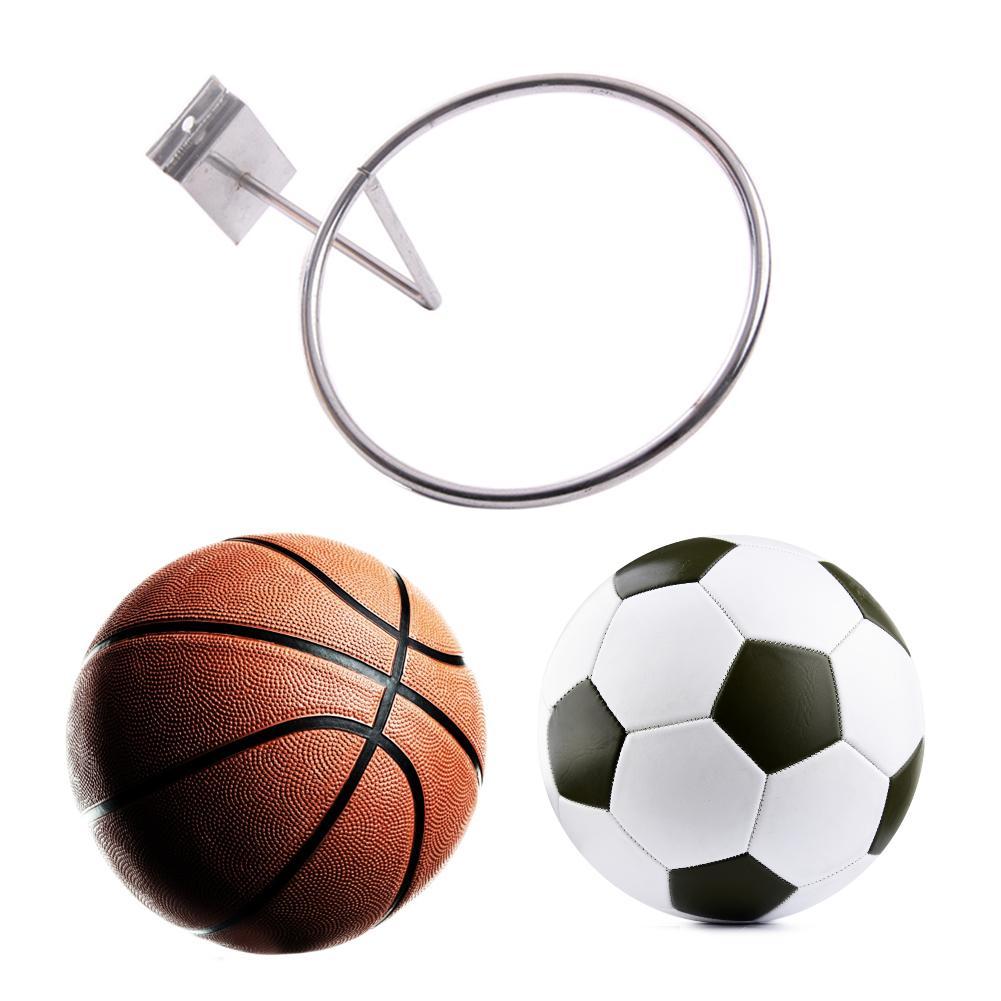 Sports Ball Holder Iron Home Wall Mount Display Rack for Basketball Football