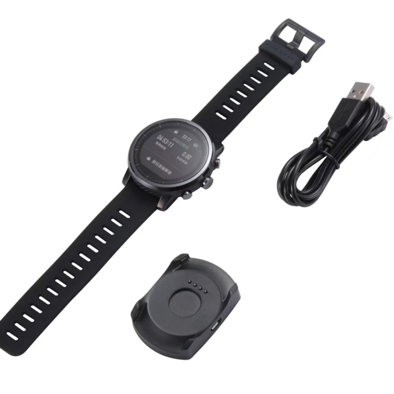 Replacement USB Magnetic Charger For Xiaomi Huami Amazfit 2 Stratos Rhythm 2 S Smartwatch Chargers Fast Charging Cable Cradle
