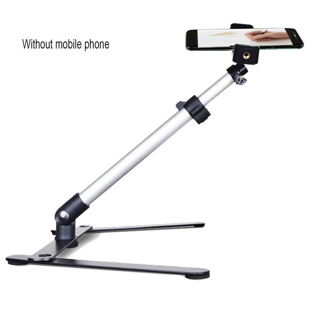 Mobile Phone Desktop Live Broadcast Bracket Multi-Angle Micro-Range Remake Rack Photography Overhead Recording Video Selfie