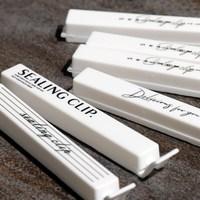 10 Teile/los Nordic Abdichtung Clip Tragbare Snacks Lebensmittel Frisch Lagerung Tasche Clamp Clips Lebensmittel Vakuum Versiegelung Küche Kunststoff Storage Tool