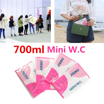 700ML Emergency Disposable Urinal Toilet Bags Unisex Convenient Toilet Portable Car Urine Vomit Bags Outdoor Camping Bath Tools 700ml emergency portable car urine vomit bag handy disposable urinal toilet bag