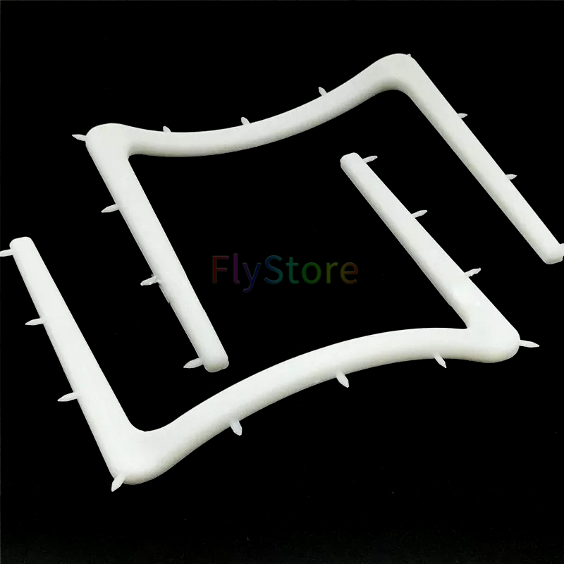 2pcs Dental  Autoclavable Plastic Rubber Dam Frame Holder Instrument