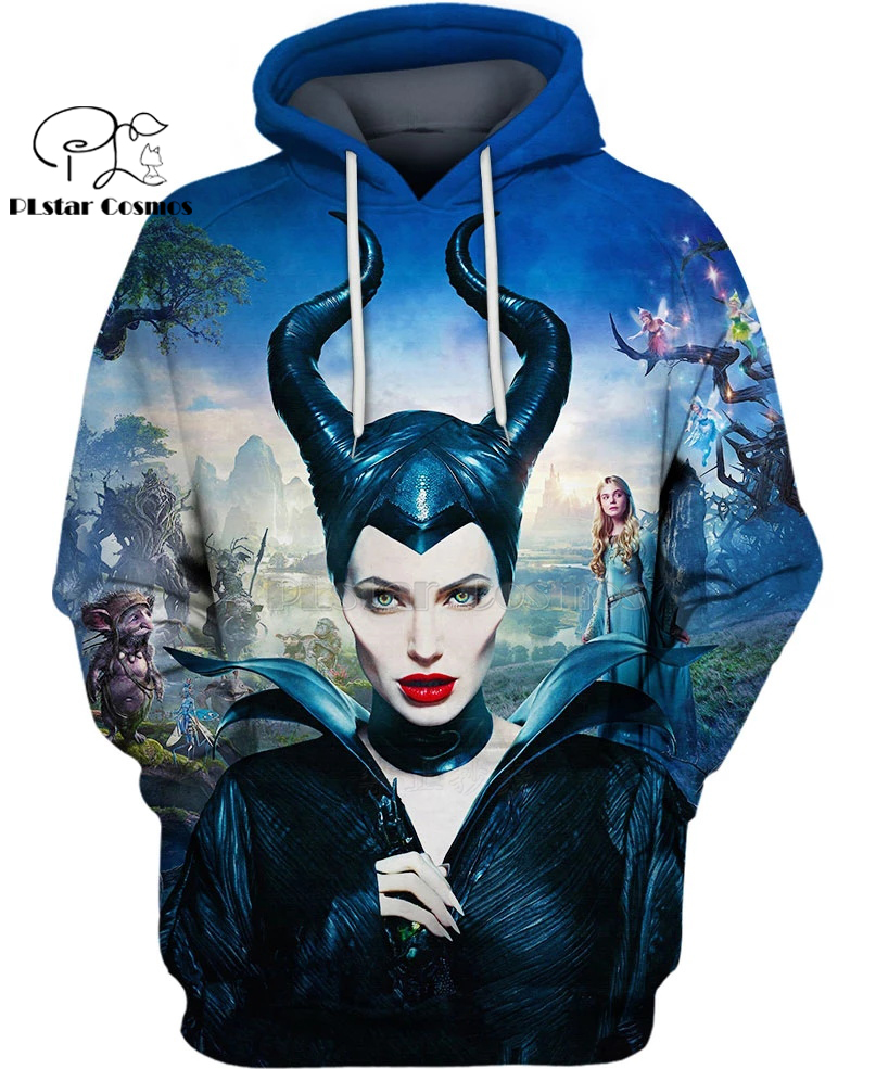 PLstar Cosmos Maleficent Evil Is Complicated 3d Hoodies/Sweatshirt Winter Autumn Funny Long Selvee Harajuku Streetwear