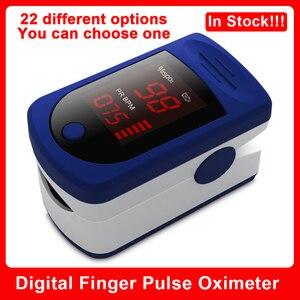 Image 1 - New Digital Fingertip Finger Pulse Oximeter Finger Heart Rate Monitor Oximetro Pulsoximeter Oximeter on the Finger LED Display