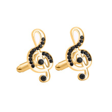 New notes jewelry alloy cufflinks European and American fashion mens French shirts hot sale sleeves