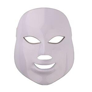 Image 4 - Mascarilla Facial con fotones LED para el cuidado de la piel, rejuvenecimiento, eliminación de arrugas y acné, 7 colores