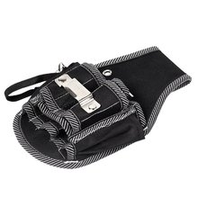 Electric Drill Holder Waist Tool Bag Waterproof Electrician Tool Bag Electric Drill  Oganizer    Carrying Pouch Holster polyester screwdriver drill storage tool bag toolkit waist pack waist strap 600d polyester electric cordless drill holder waist