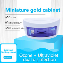baby bottle sterilizer disinfection cabinet steam sterilization with drying warm milk baby only lcd panel cooking supplement New UV Sterilizer Disinfection Cabinet Ultraviolet Light Sterilization Manicure Tools Household UV Sterilizezation Box Hot Sale
